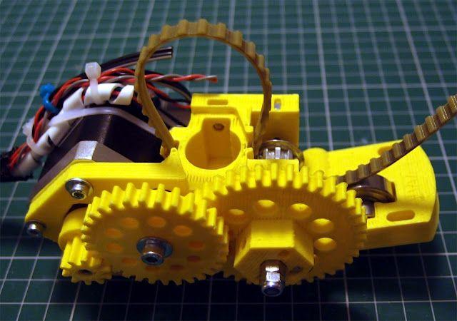 Paste Extruder for a 3d printer