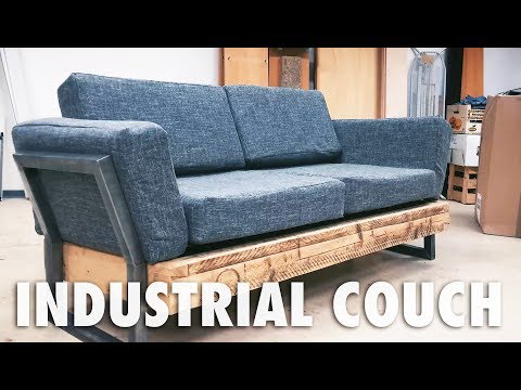 One Reddit User Built This Diy Reclaimed Sofa For 100 Diy Sofa Diy Furniture Couch Diy Couch