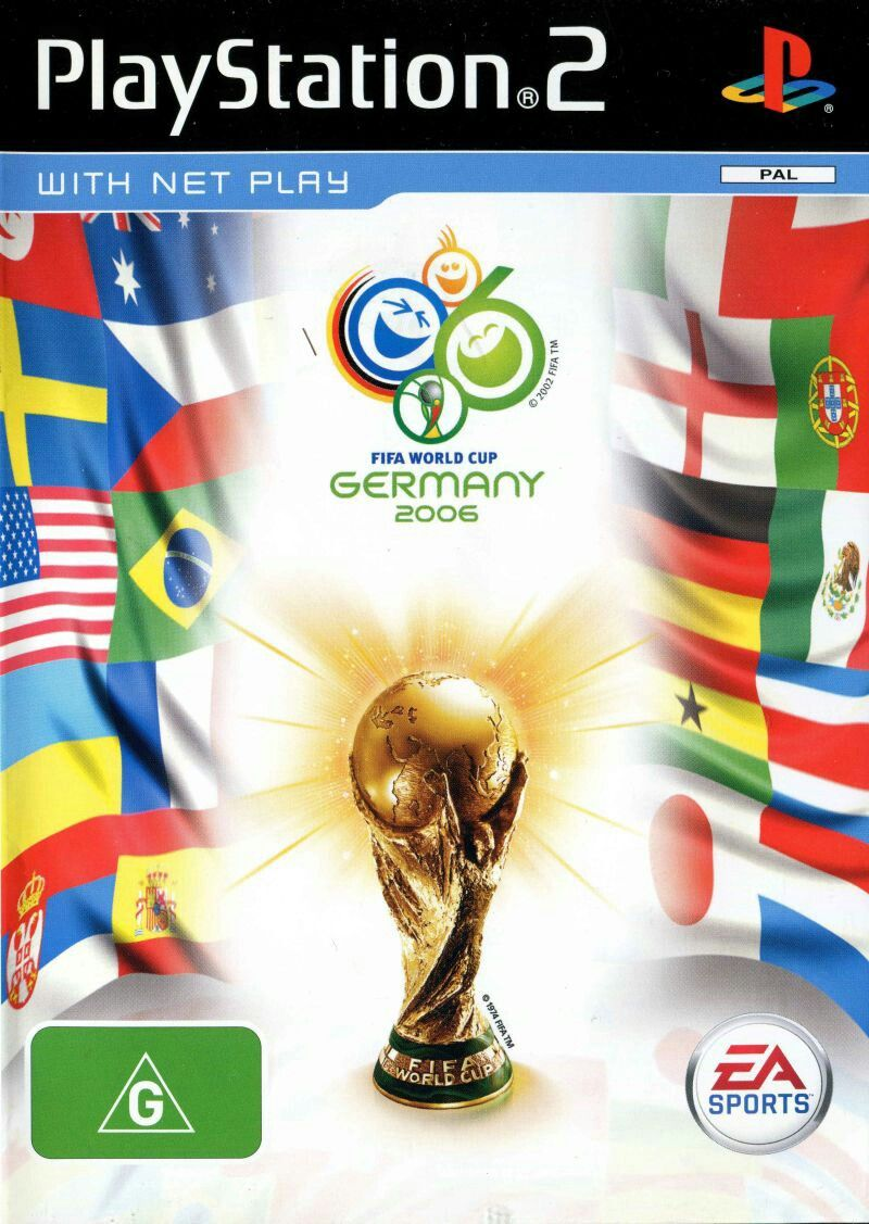 Fifa World Cup 2006 Video Games In 2020 World Cup Fifa World Cup Fifa