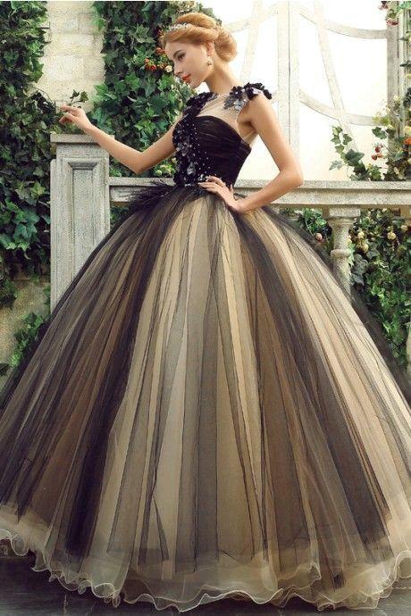 Vestidos negro de xv
