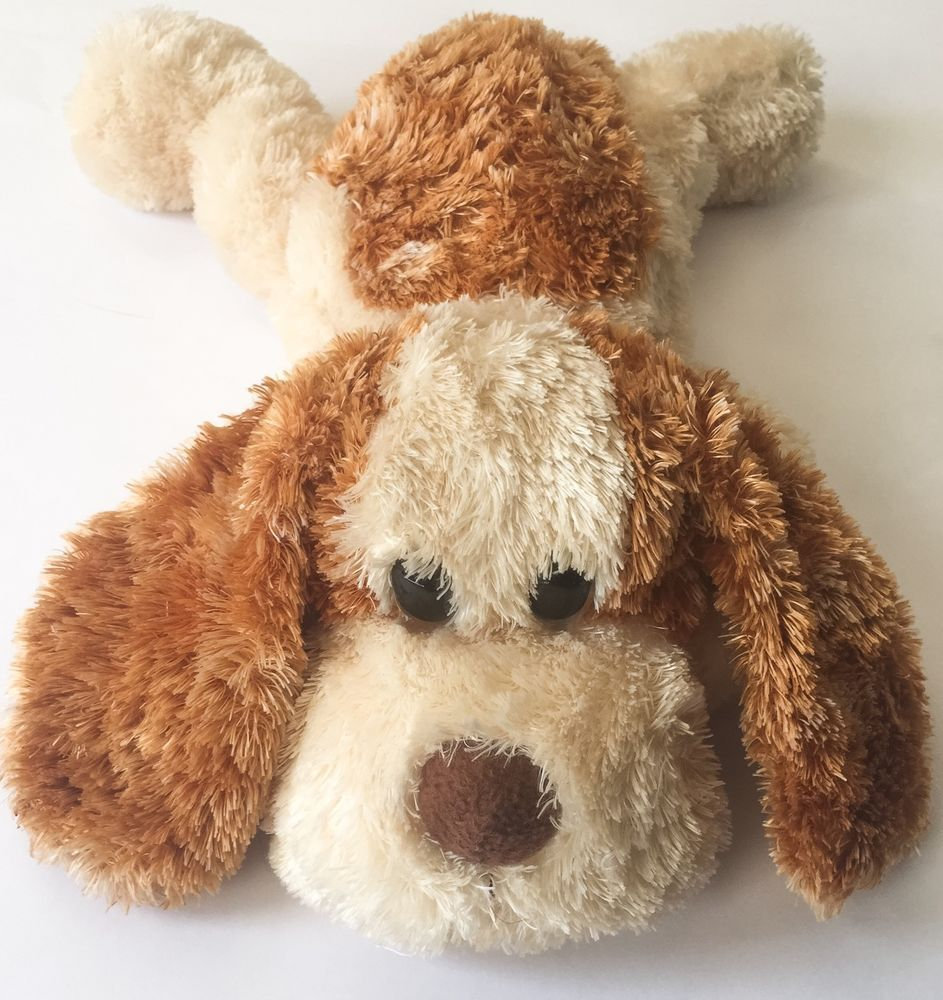 Aurora Plush Puppy Dog Stuffed Animal Floppy Ears Soft Fur
