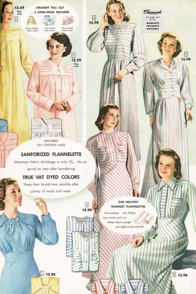 588f675f67 Catalog from 1948 - Ladies Nightgowns