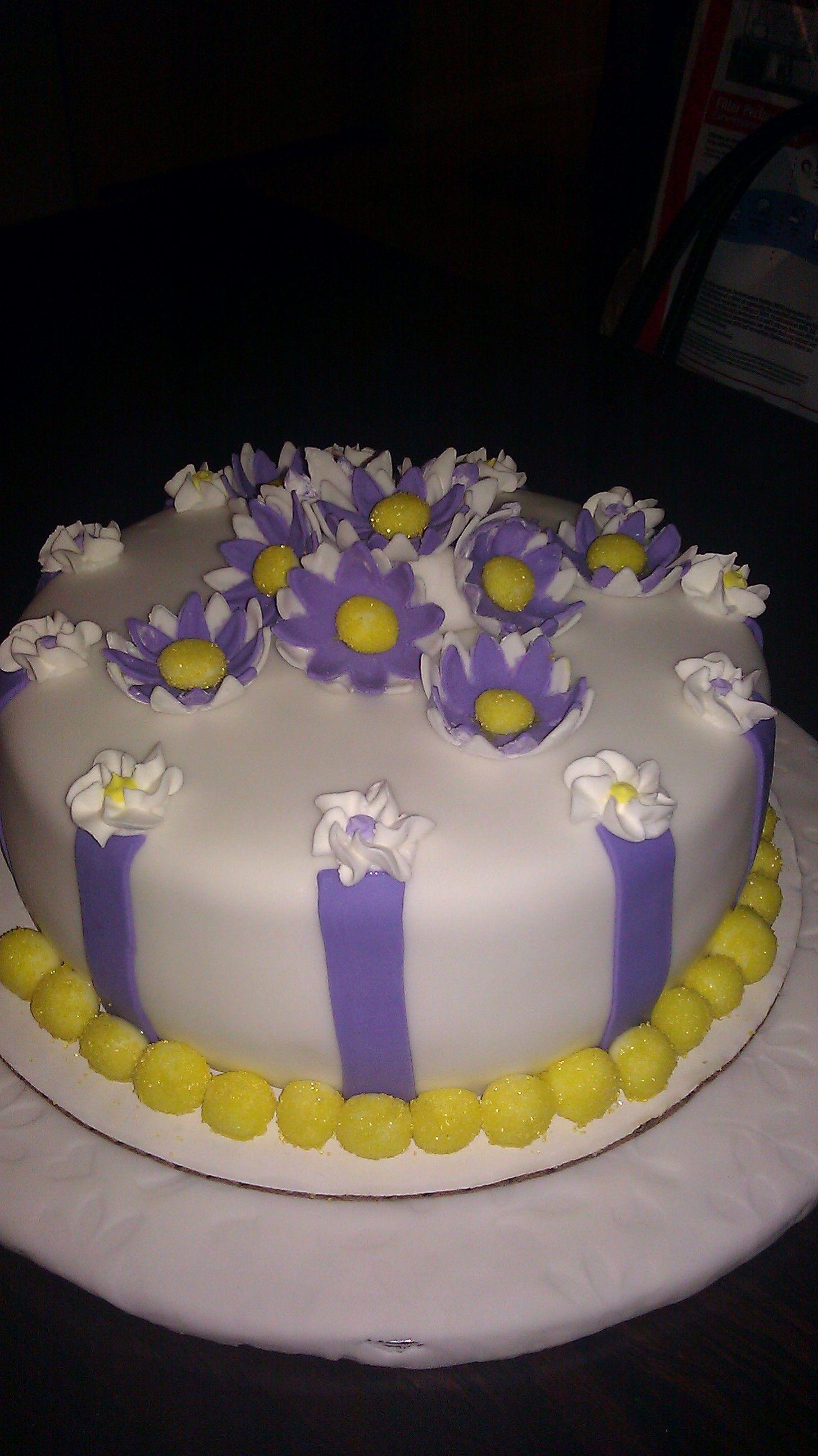 My Final Wilton decorating class cake (2011) # ...