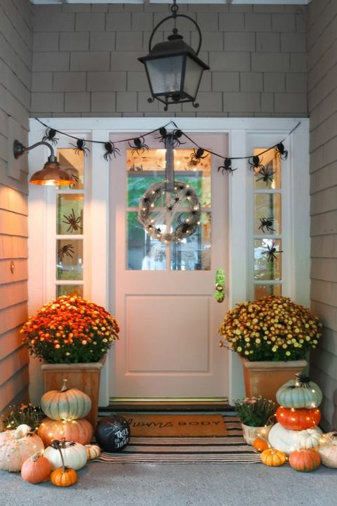 Dress Up Your Front Door for Halloween With These
