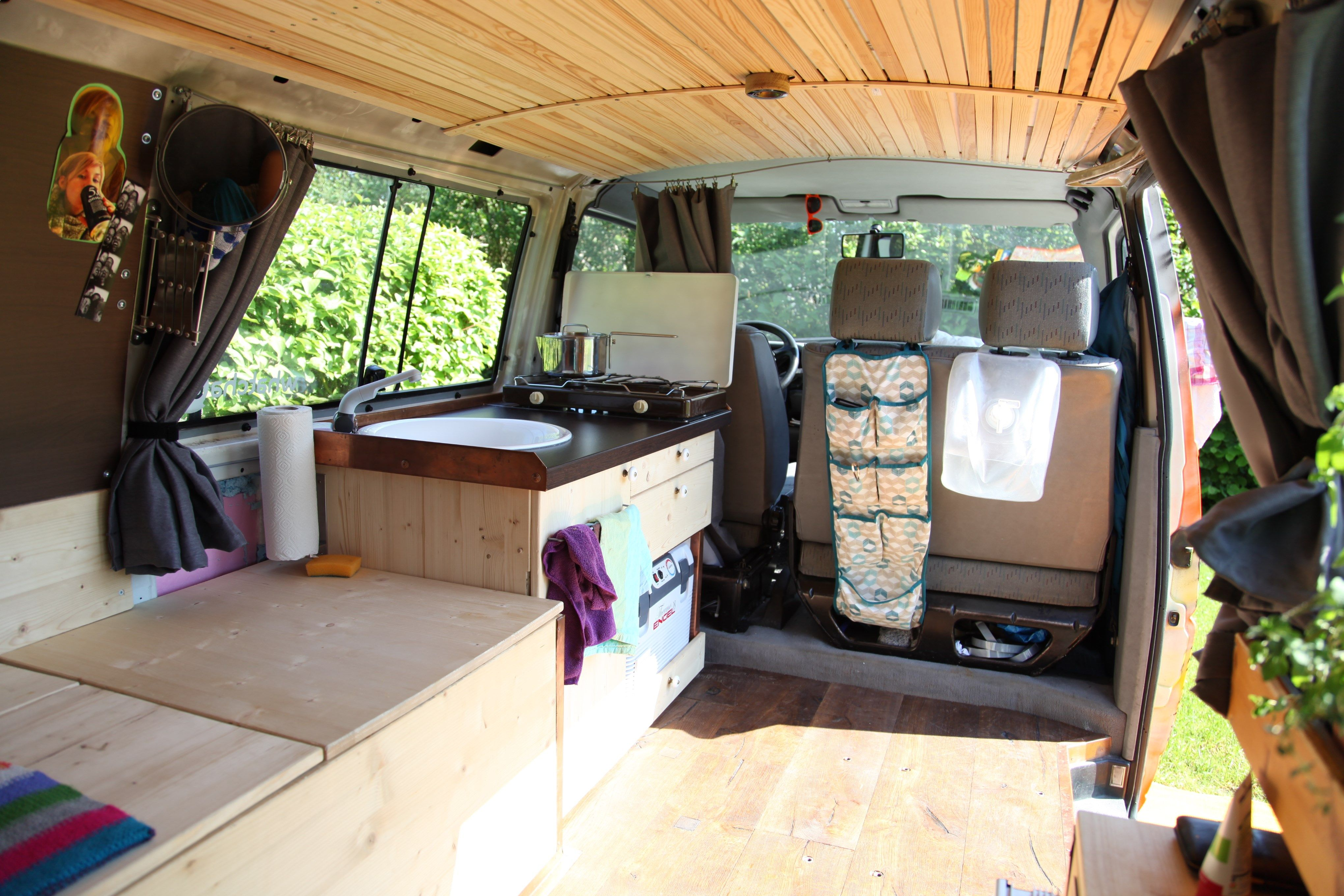 wood herbs vanning vanlife van vw t4 camping. Black Bedroom Furniture Sets. Home Design Ideas