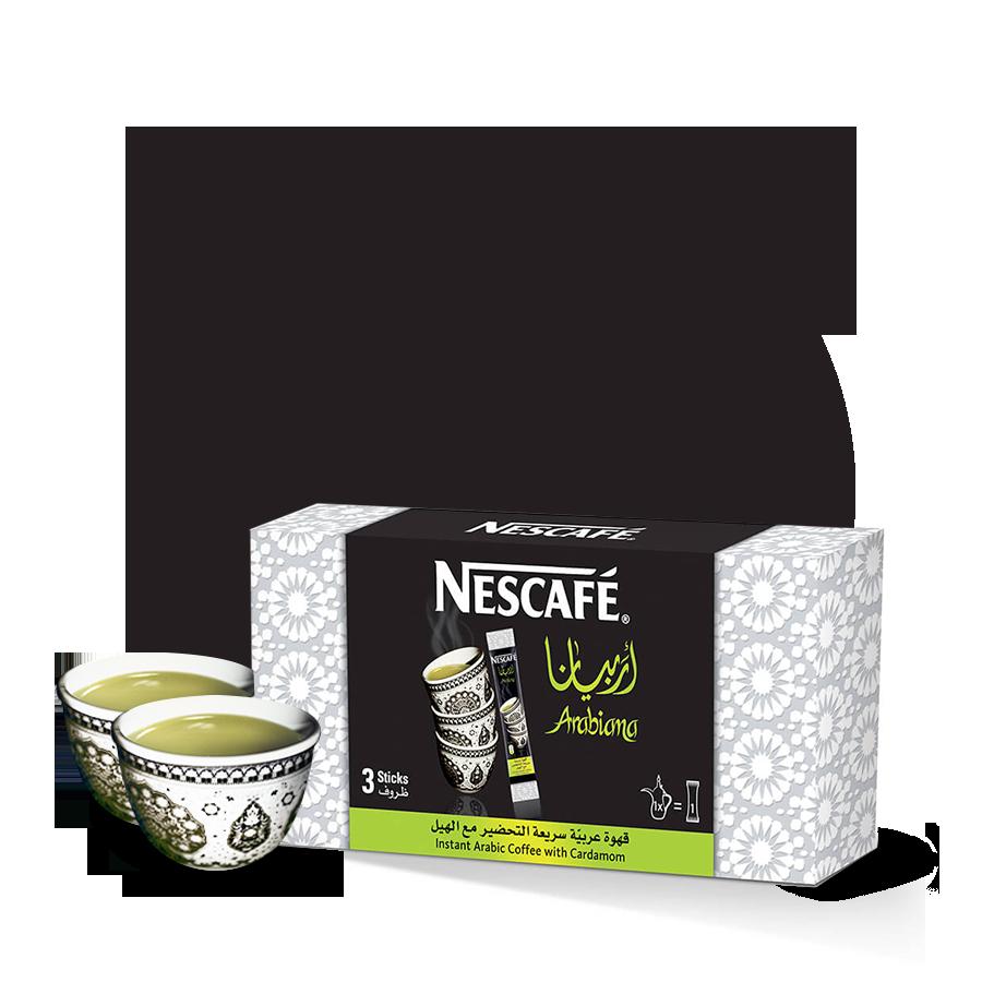 Nescafé Arabiana Buy cardamom flavoured Instant coffee