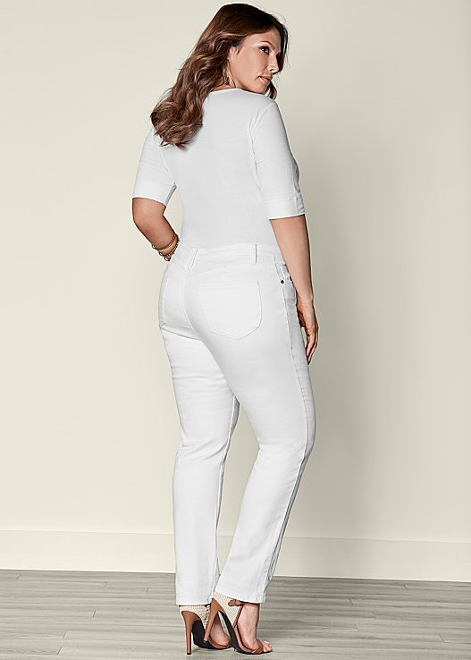 b8c486fcc83 These jeans were designed to give you a little extra lift! Venus plus size  bum