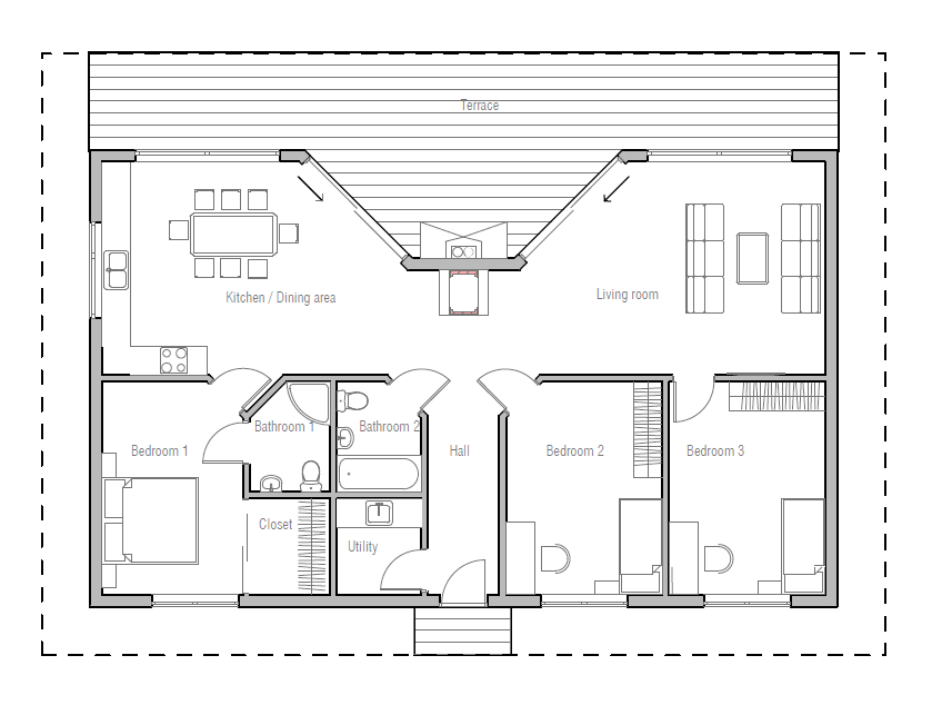 Very Popular Small House Plan Good Choice For The