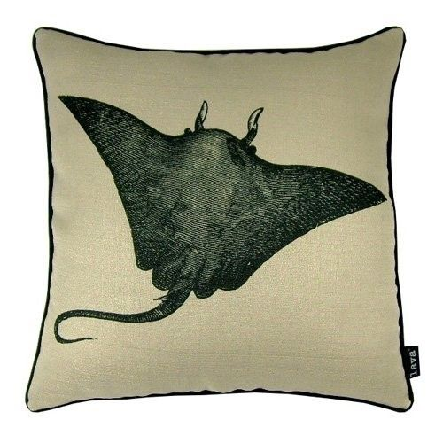Lava Sting Ray Indoor Outdoor Pillow Beige Throw Pillows Indoor Outdoor Pillows Pillows