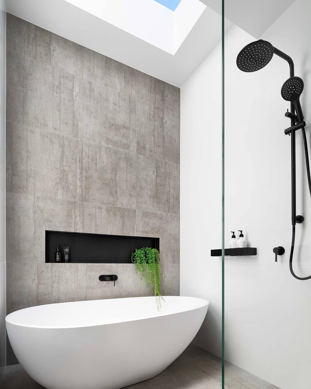Gia Bathrooms Kitchens On Instagram Natural Lighting For Our Malverneastproject Bathroom Creat Open Plan Bathrooms Easy Bathroom Decorating Reece Bathroom