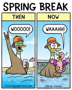 Spring Break Fowl Language Comics Fowl Language Comics Parenting Comics Mom Humor