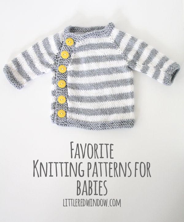 My Favorite Sweater Knitting Patterns for Babies   Bebé, Comprar y ...