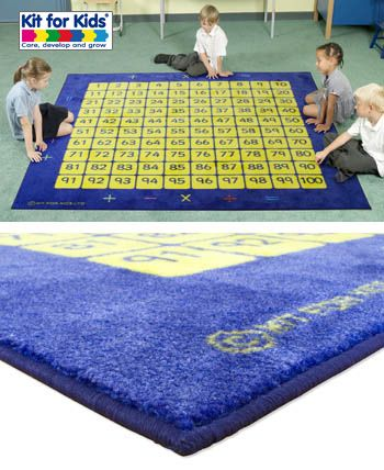 100 Square Counting Grid Carpet Conscidering It For The New Classroom New Classroom Classroom Carpets Kits For Kids