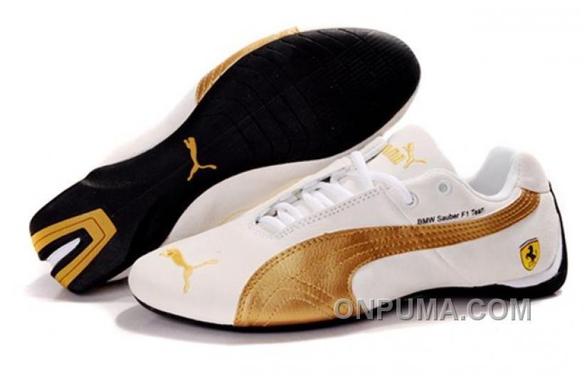 http://www.onpuma.com/mens-puma-ferrari-shoes-white-golden-cheap-to-buy.html MENS PUMA FERRARI SHOES WHITE GOLDEN CHEAP TO BUY : $78.00