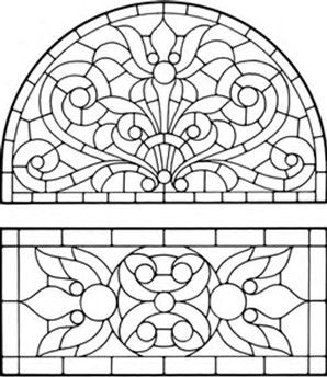 Image Result For Stained Glass Windows Coloring Pages