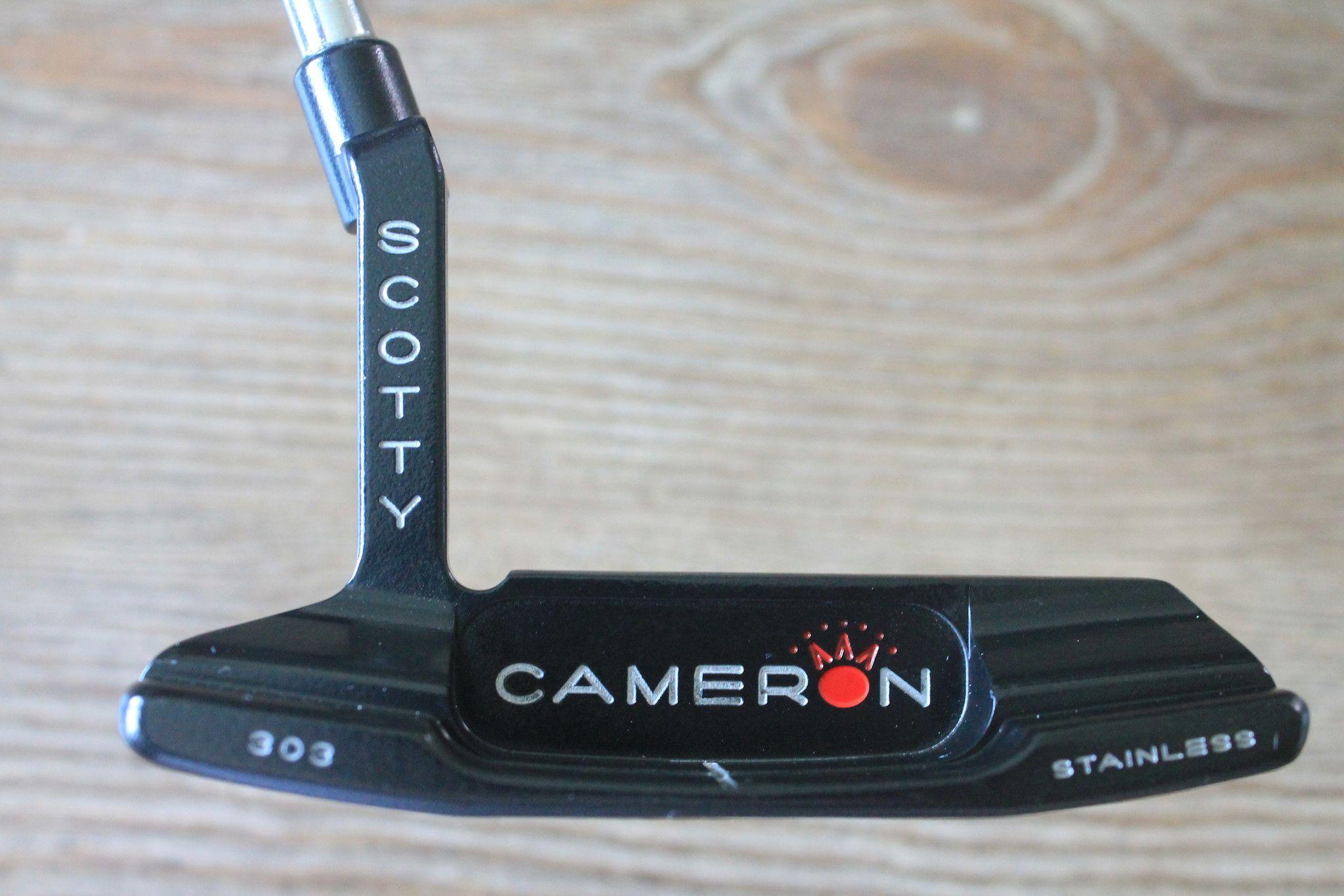 Scotty Cameron Studio Stainless Newport 2 303 Black Custom