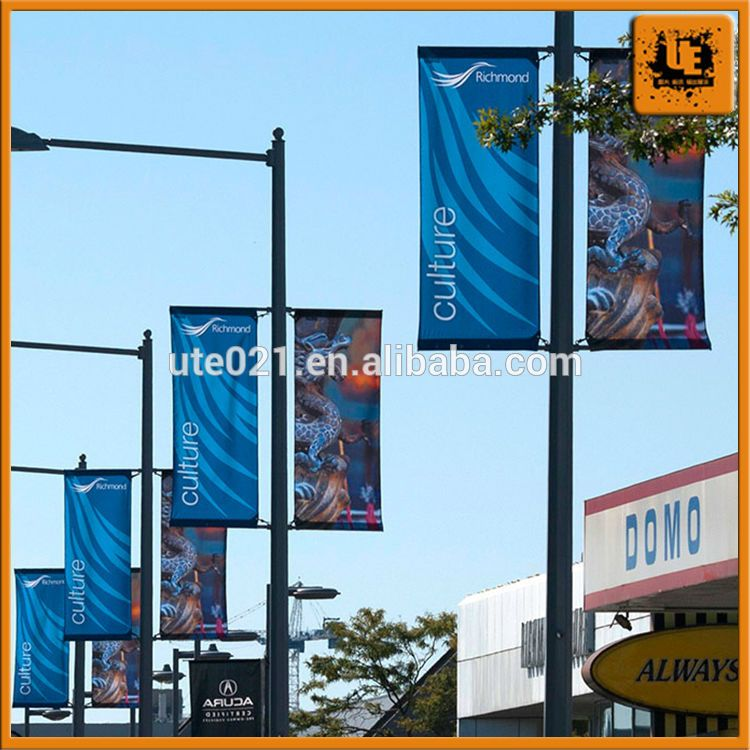 Light Pole Templates: Pin On Signage: Light Pole Banners