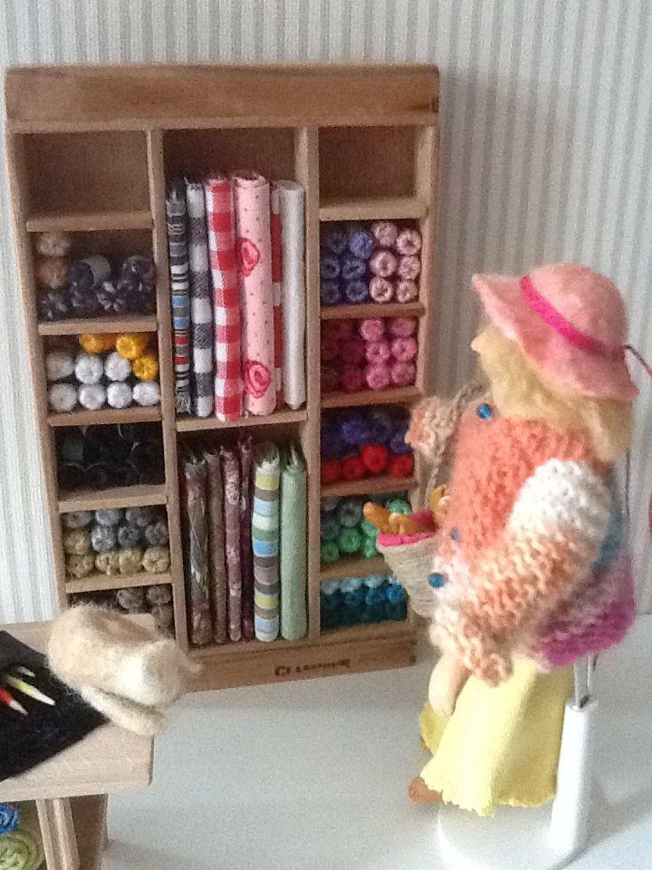 Bolletje wol of een leuk lapje stof kiezen