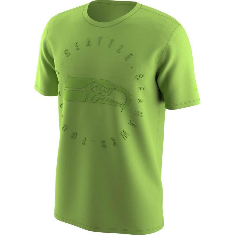 ea949bd355b  mothersday  AdoreWe  Fanatics.com Teamware   Logo - Nike Men s Nike Neon  Green Seattle Seahawks Color Rush Logo T-Shirt - AdoreWe.com