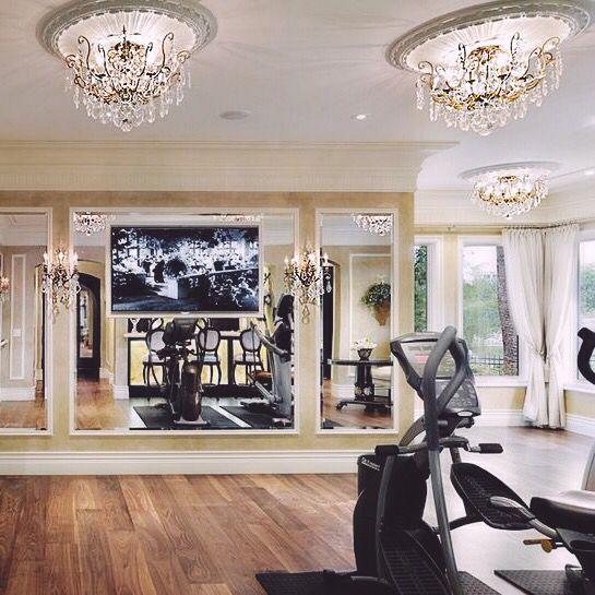 Home Gym Design Ideas Basement: Home Workout Studio