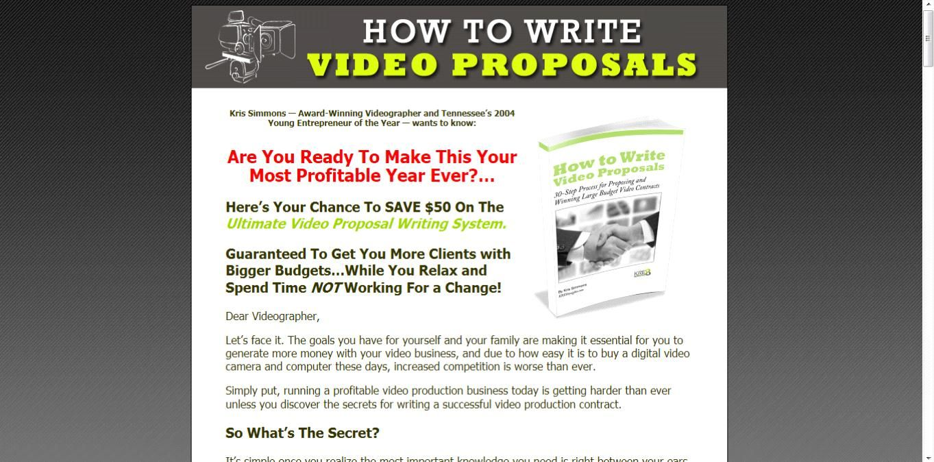 How To Write Video Business Proposals Review Get Full Review