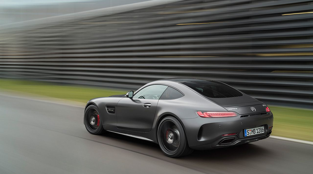 """9ba4cf7785 Mercedes-AMG GT C Edition 50 (C 190)  To the theme of """"50 Years of Driving  Performance"""""""