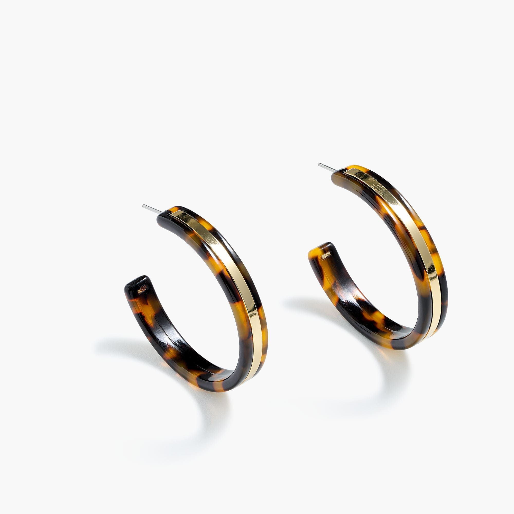 hoops ash garmentory in shop blonde machete grande sale le earrings tortoise