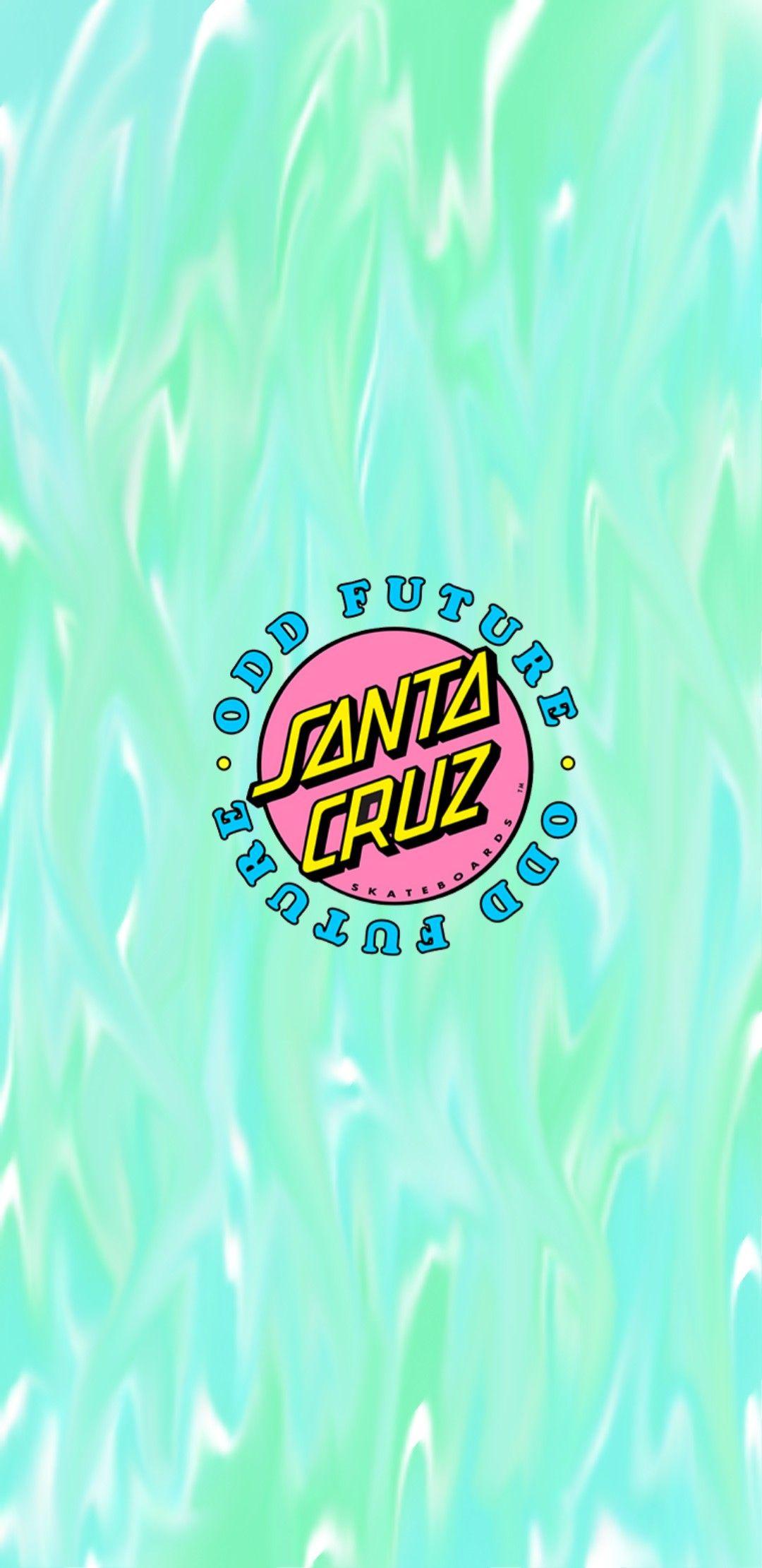 Santa Cruz Iphone Wallpaper Logo Hype Wallpaper Hippie Wallpaper