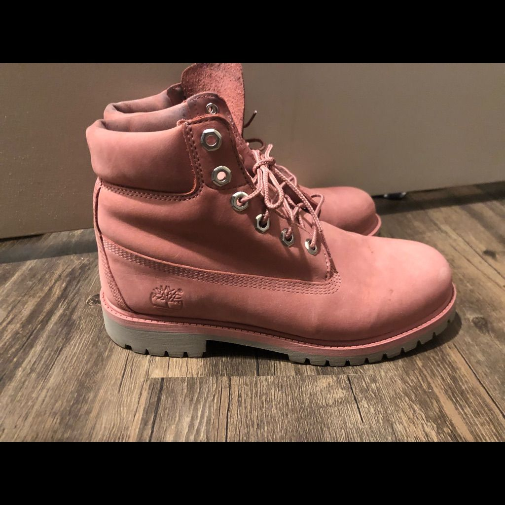 Timberland Shoes | Pink Timberlands Size 6.5 | Color: Pink