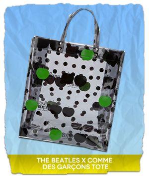 9475ec14edf7 Tutustu kiinnostaviin ideoihin! The Beatles X Comme Des Garçons Tote