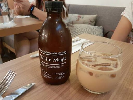 White Magic Brew Coffee from Curious Palette | Singapore
