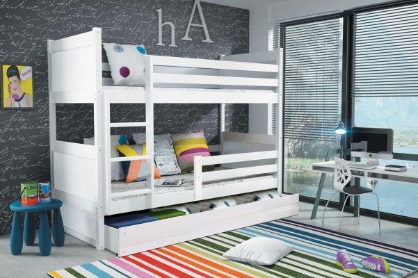 Etagenbett Baby : Furnistad etagenbett heaven kinder stockbett mit treppe und
