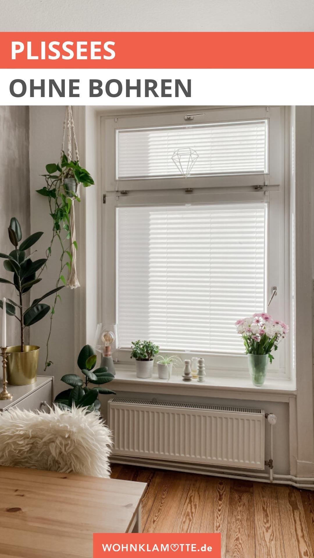 Photo of Plissees Fenster: Sichtschutz ohne Bohren