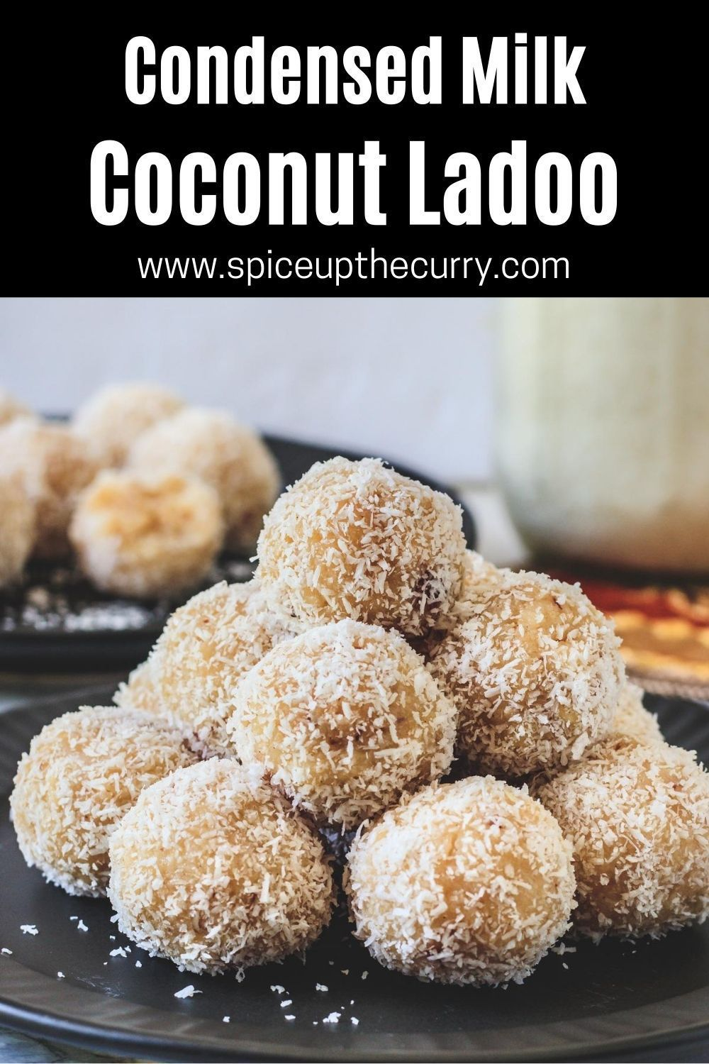 Coconut Ladoo Recipe With Condensed Milk Spice Up The Curry Recipe In 2020 Indian Dessert Recipes Vegetarian Desserts Indian Food Recipes