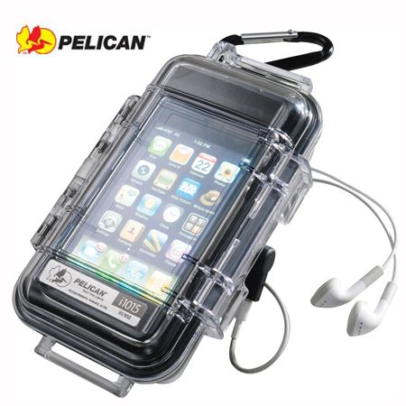 Pelican I1015 Black Case With Clear Lid Iphone Blackberry Smartphones Waterproof Iphone Case Clear Iphone Case Water Proof Case