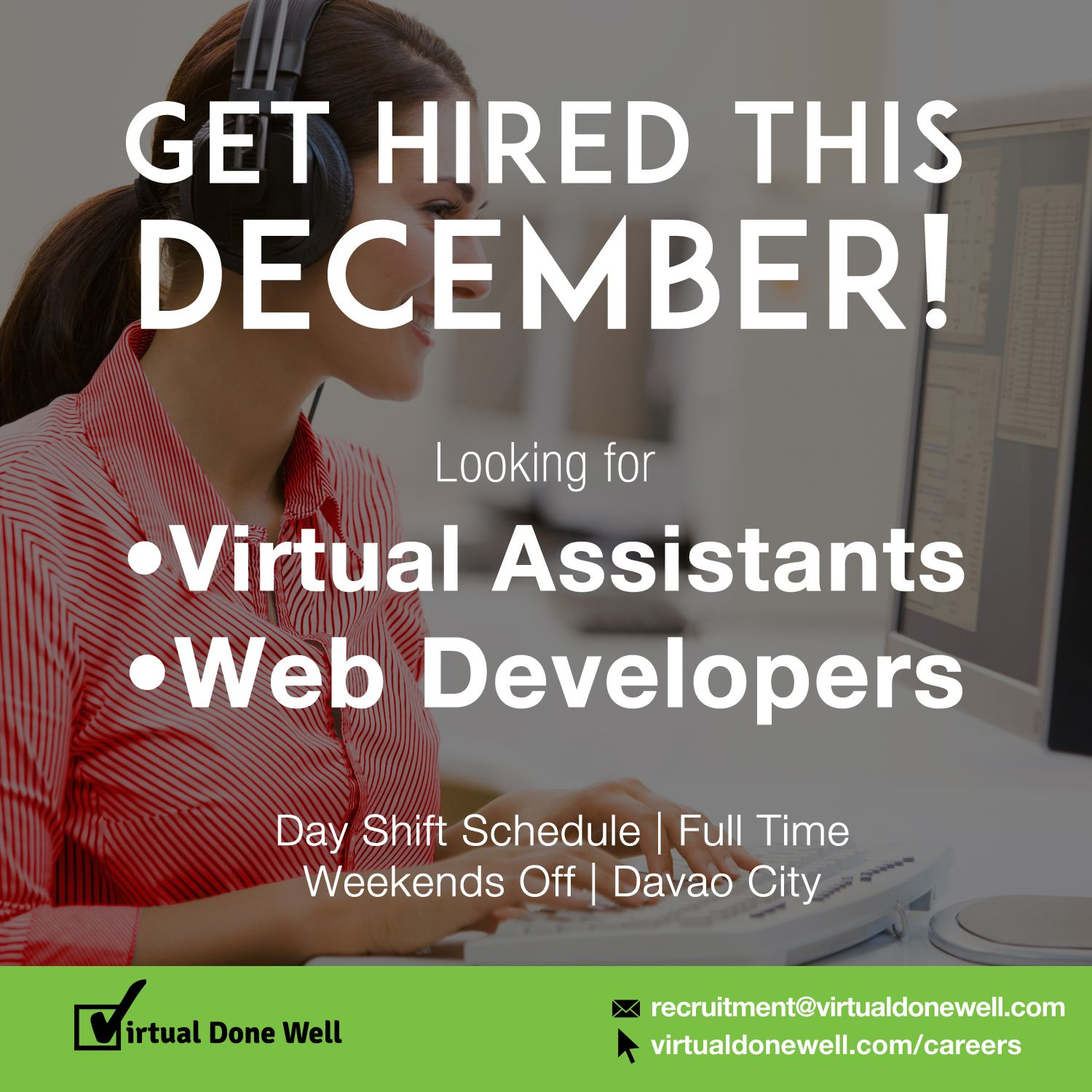 Apply for a job at virtual assistant how to apply