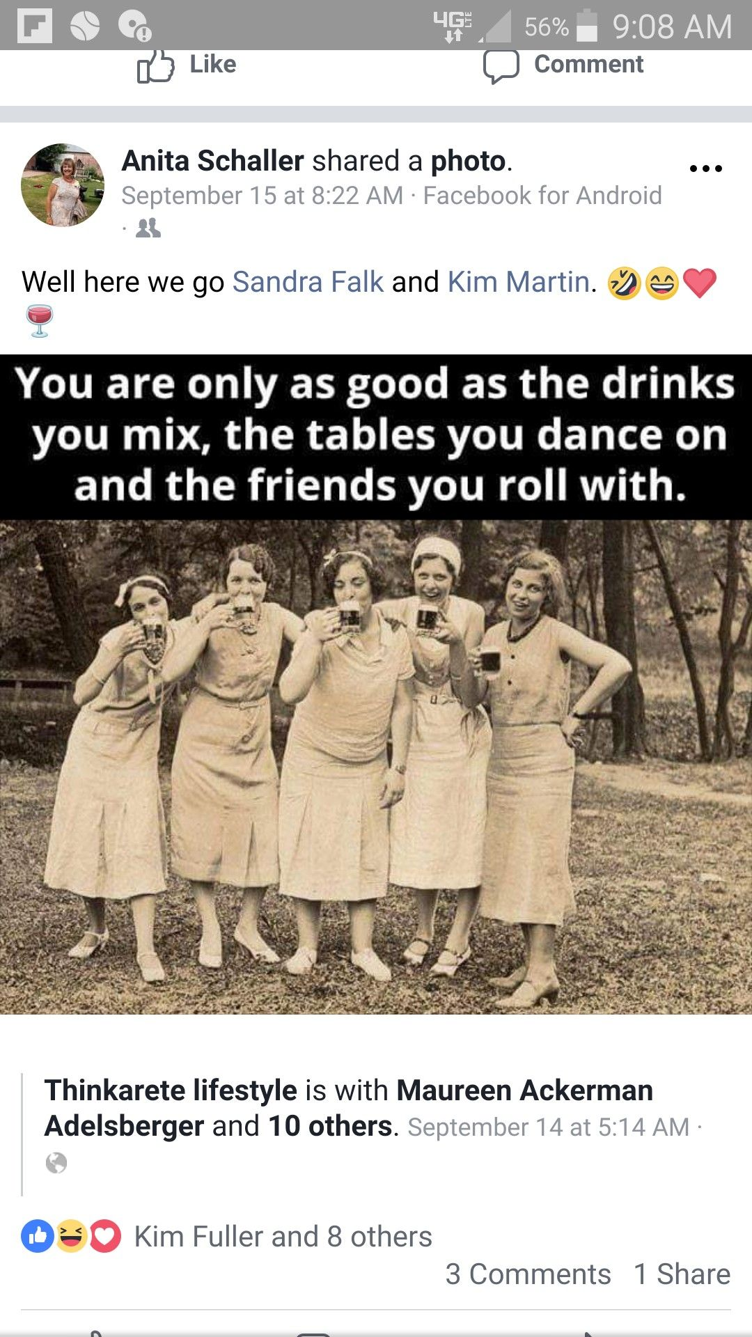 Truth Drinks You Mix Tables You Dance On Friends You Roll With Girlfriend Humor Happy Birthday Quotes Friends Quotes