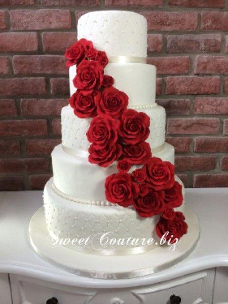 Wedding Cake Glacé 1 Buffet Florals Gateau Mariage