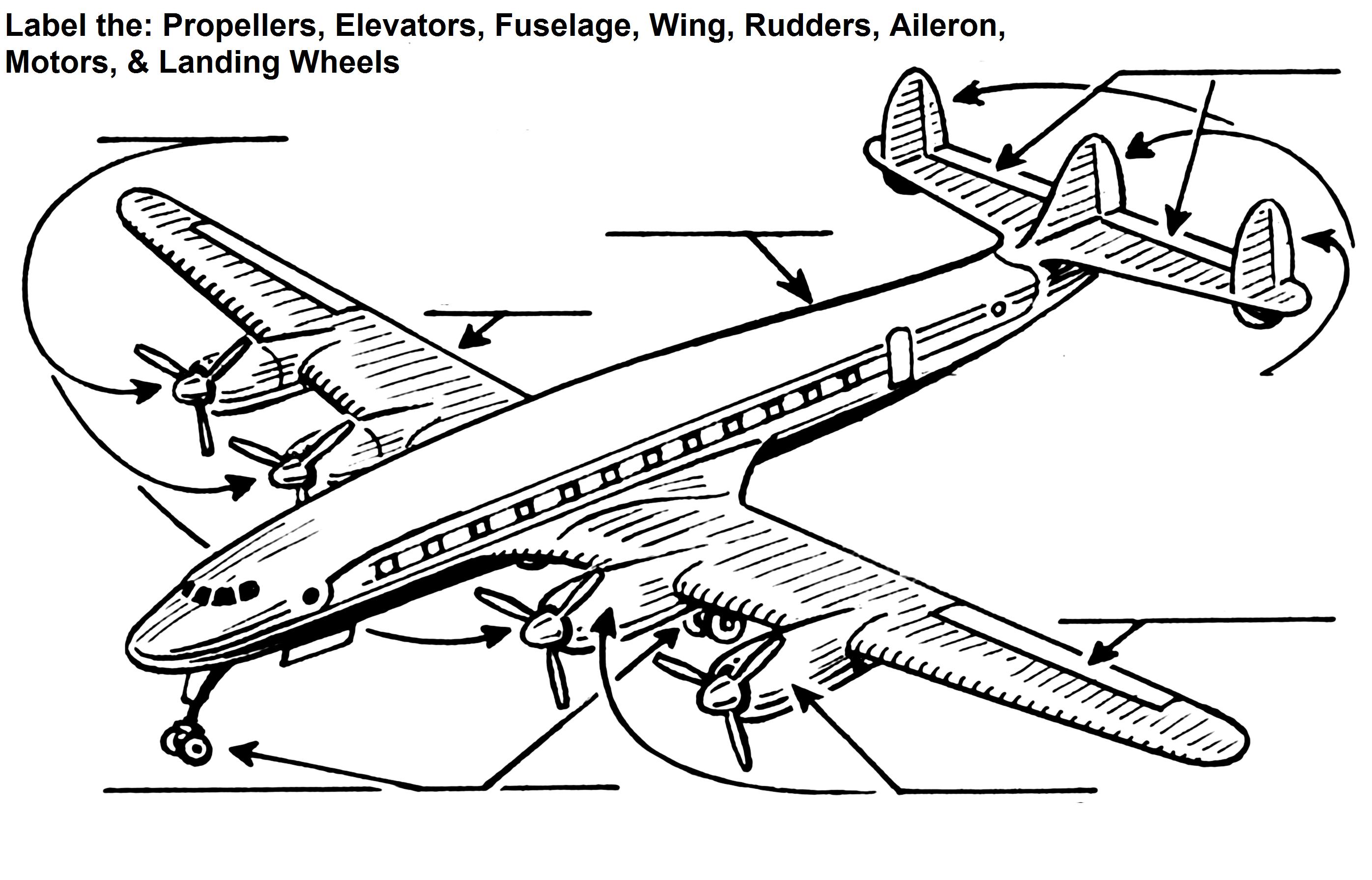 Aviation Badge Worksheet
