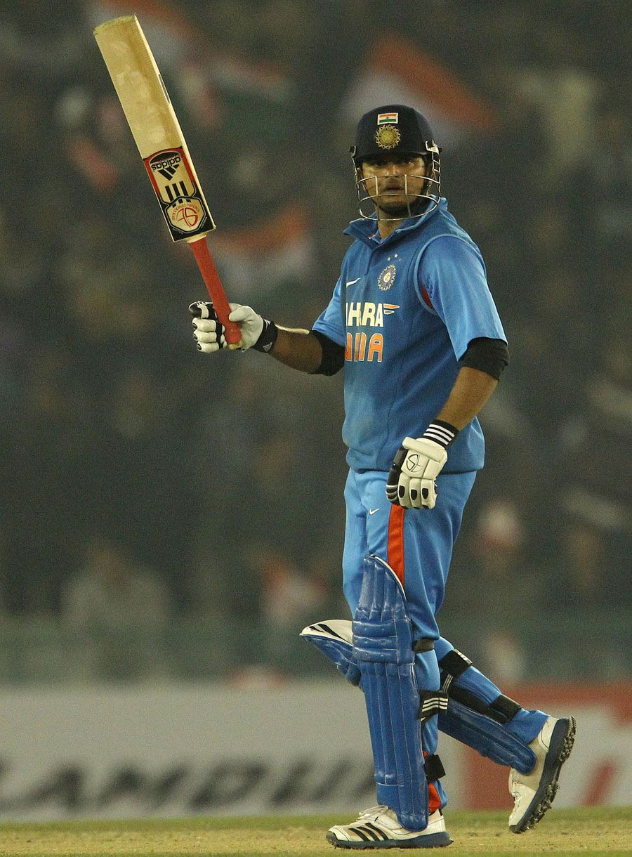Suresh Raina (Ind) 89*, scored an attacking halfcentury