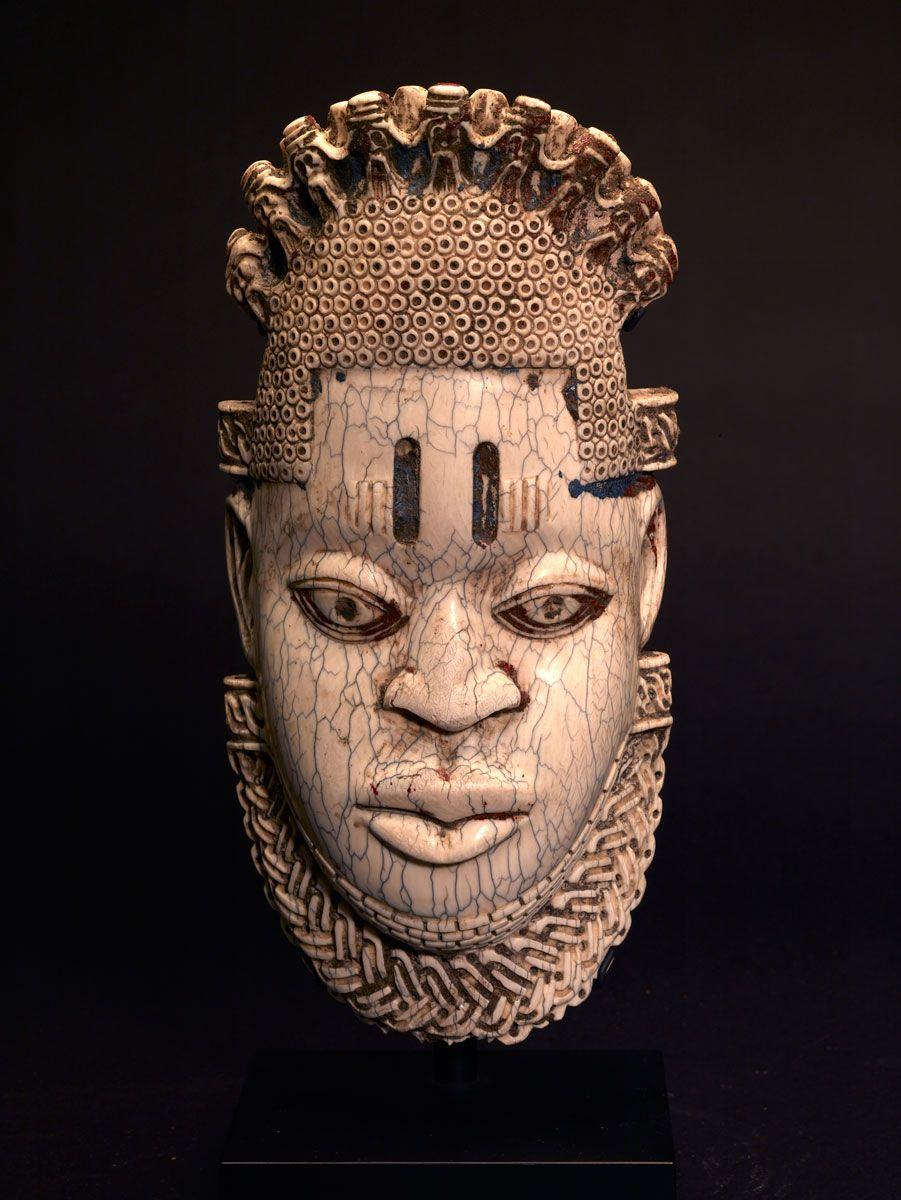 Benin Ivory Hip Ornament | African and Tribal Art | African art