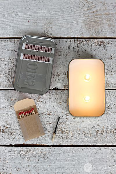 Learn how to make 5 different emergency kits that you can fit in an Altoids tin!