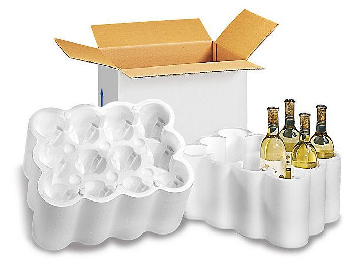 Wine Bottle Shippers 12 Bottle Pack S 6518 Uline Wine Sale Wine Preserver Wine Carrier
