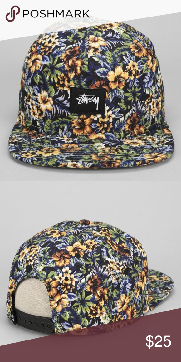 69ed12b7 Stussy Island Floral Snapback Hat Another dope set out of the Stussy summer  2014 collection are