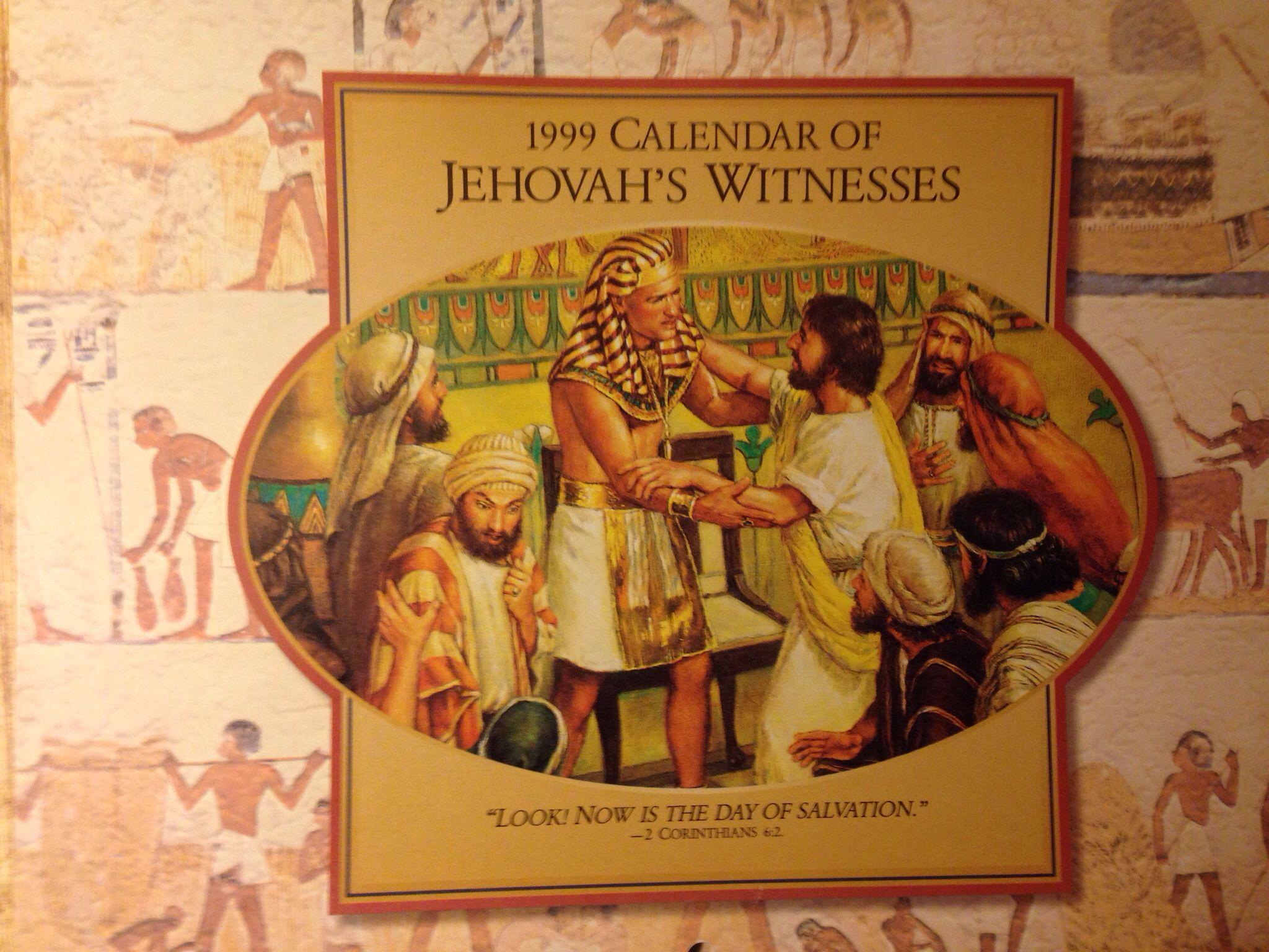 Jw Calendar 1999 Calendar 1999 Calendar Jehovah S Witnesses