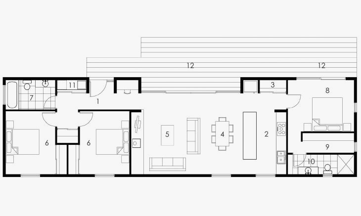 Rectangle Ranch Floor Plans Awesome Rectangle House Plans Rectangular House Plans 3 Endearing Floor Plans Ranch Rectangle House Plans House Plans