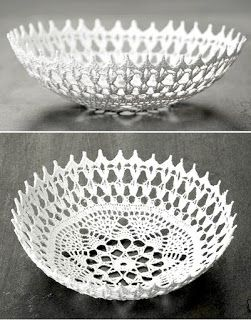 innovart en crochet - ?stiffened with paverpol