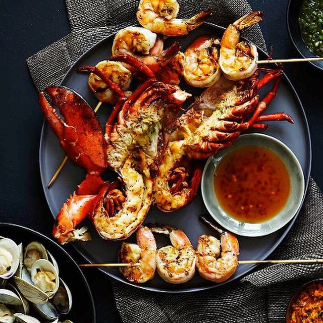 Grilled shellfish fete