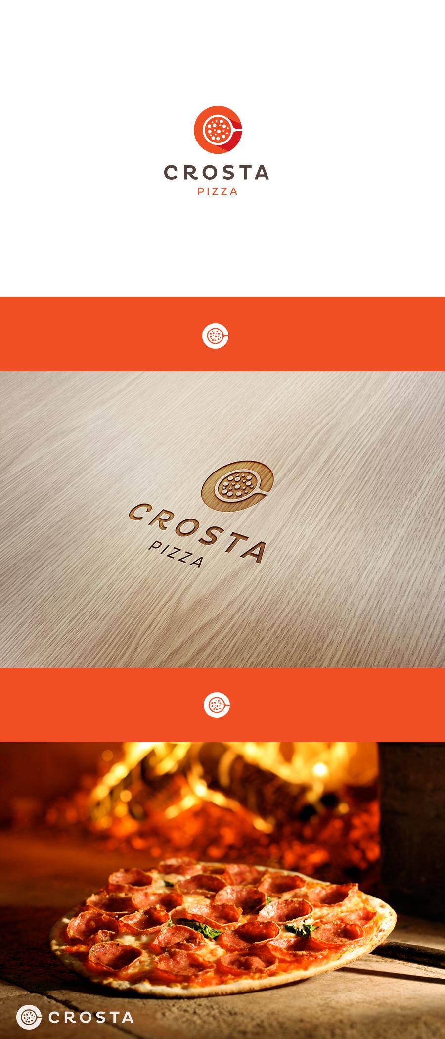 Modern Logo for new concept pizza place Logo design 102
