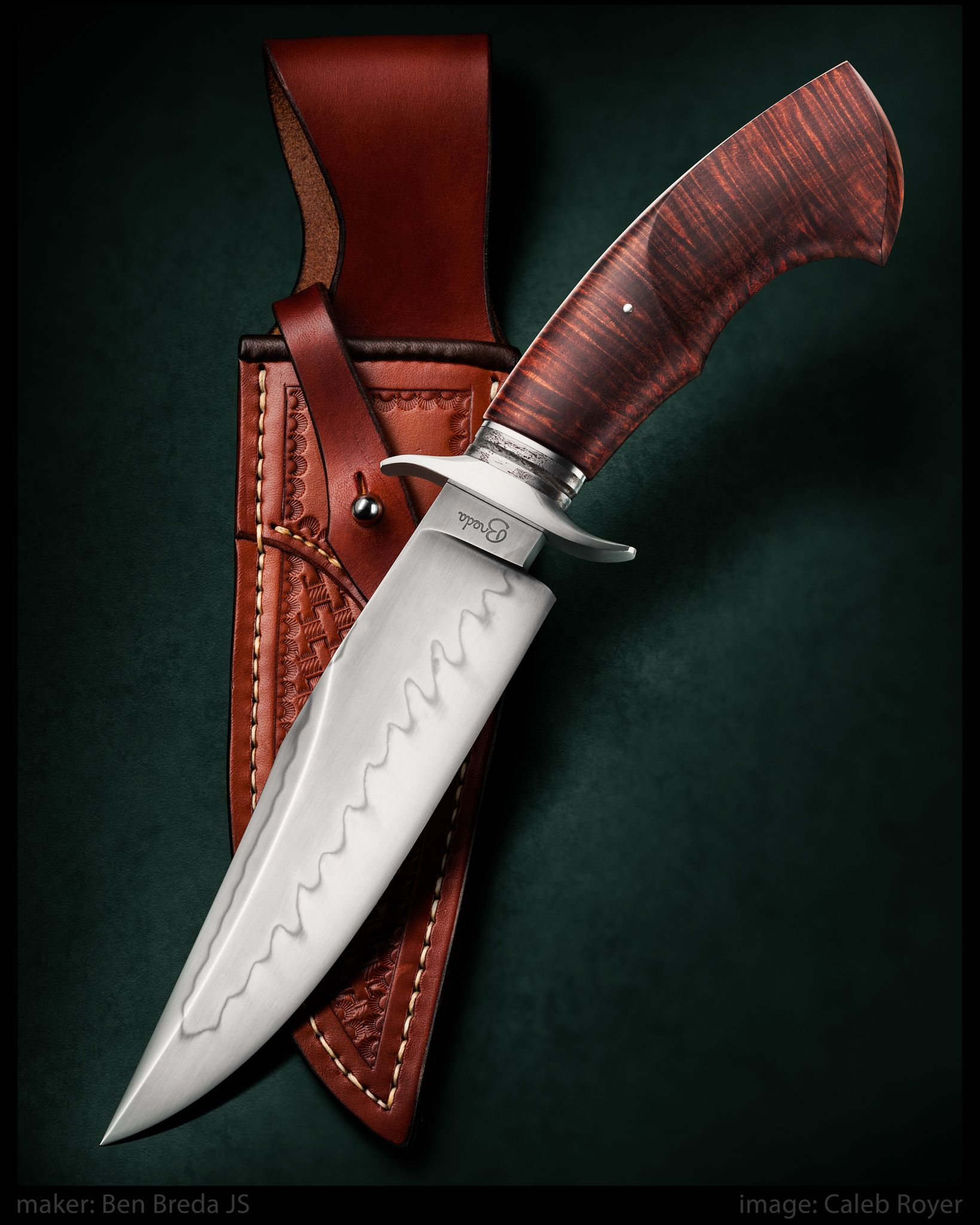 Pin On Caleb Royer Knife Photos